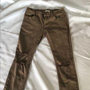 🔥Blue Asphalt Skinny Jeans from Charlotte Russe🔥